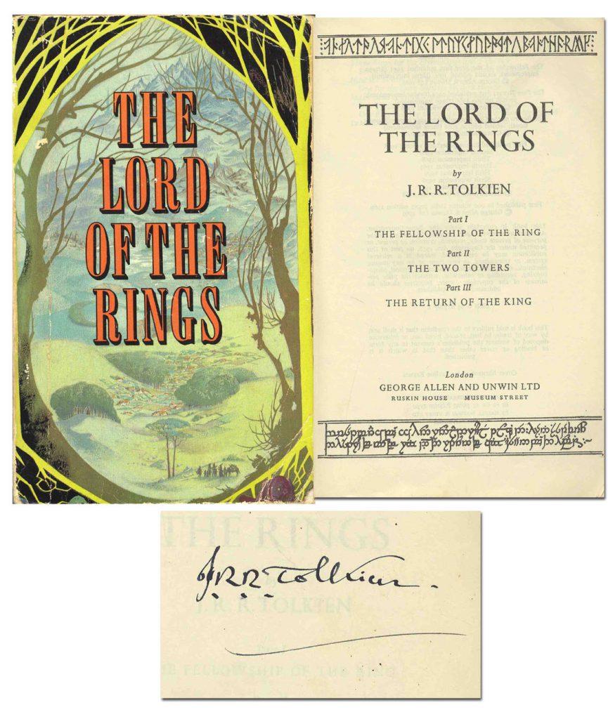 Tolkien autograph