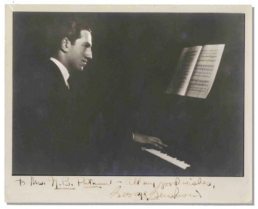 George Gershwin autograph