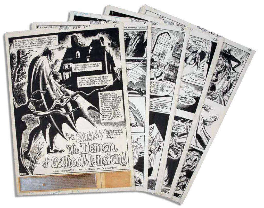 Gene Colan Frank Giacoia John Romita Sr Daredevil cover comic art