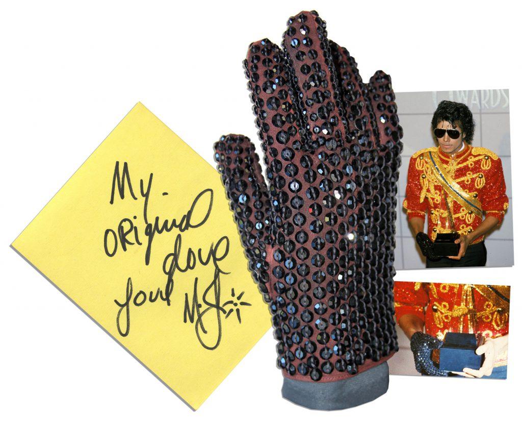 Michael Jackson belt
