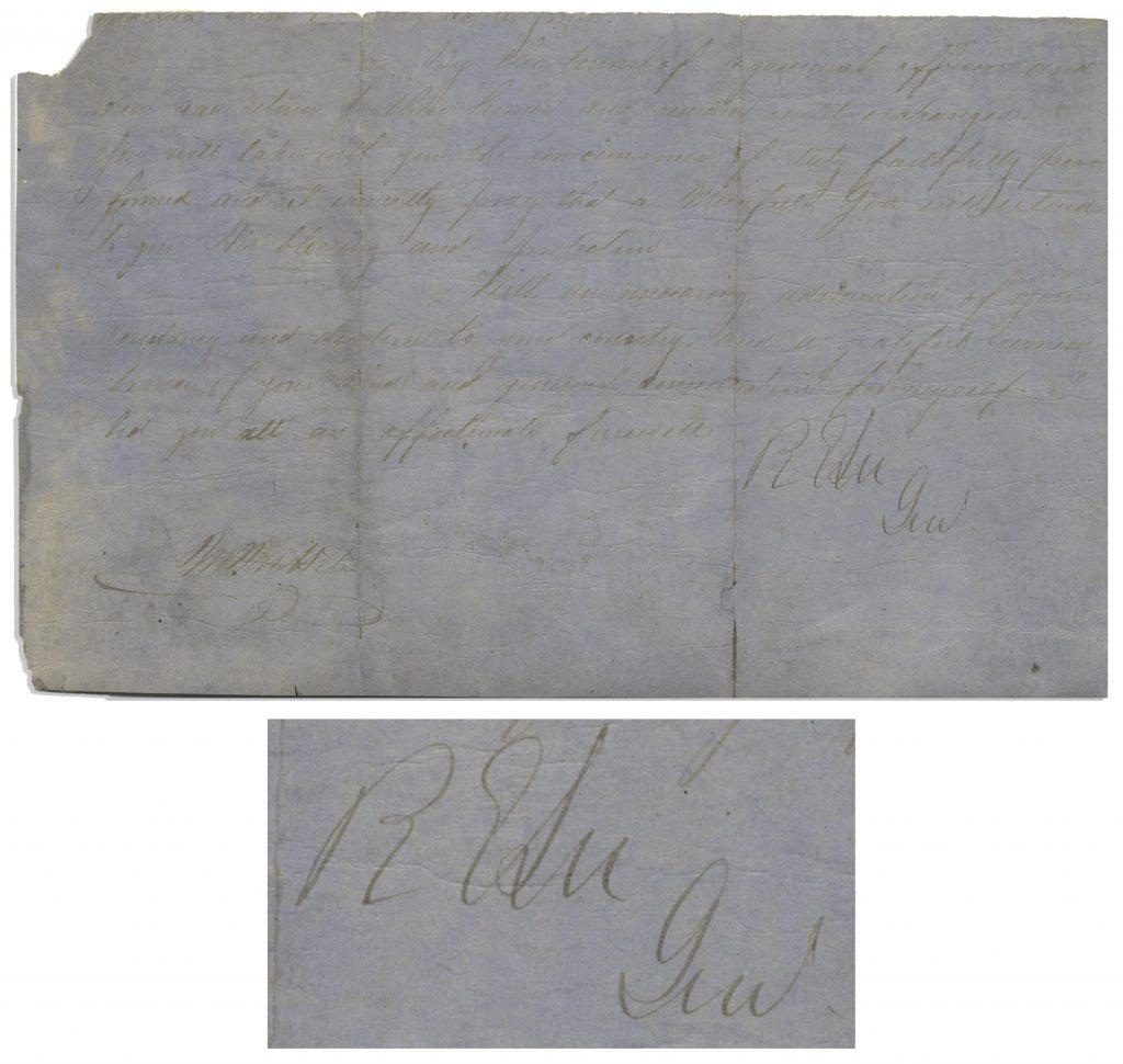 signed General Order number 9