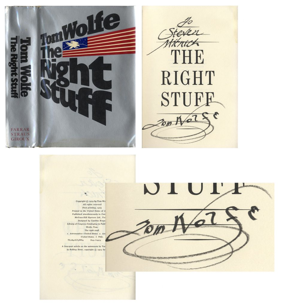 The Right Stuff memorabilia