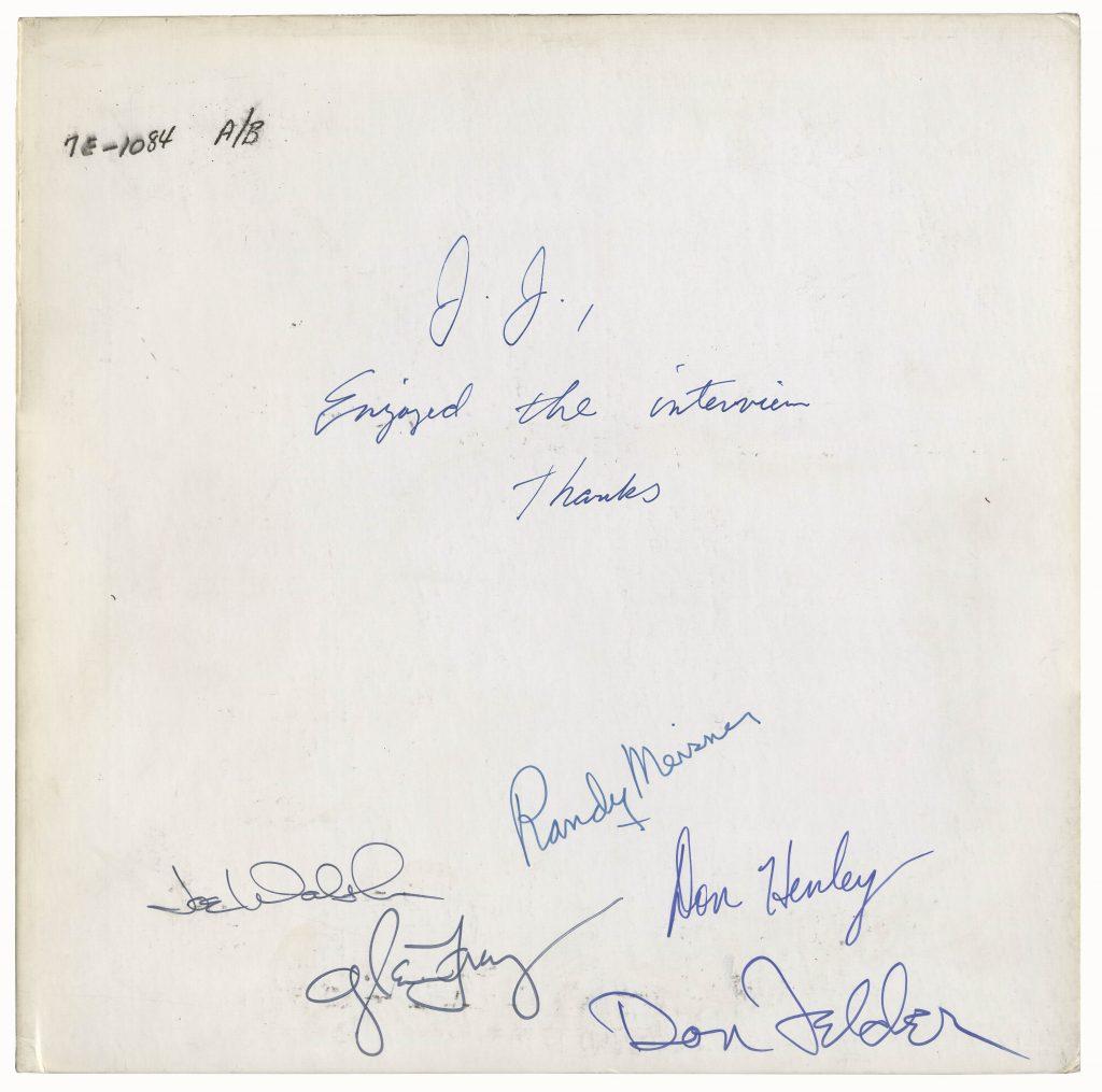 Clash autographs