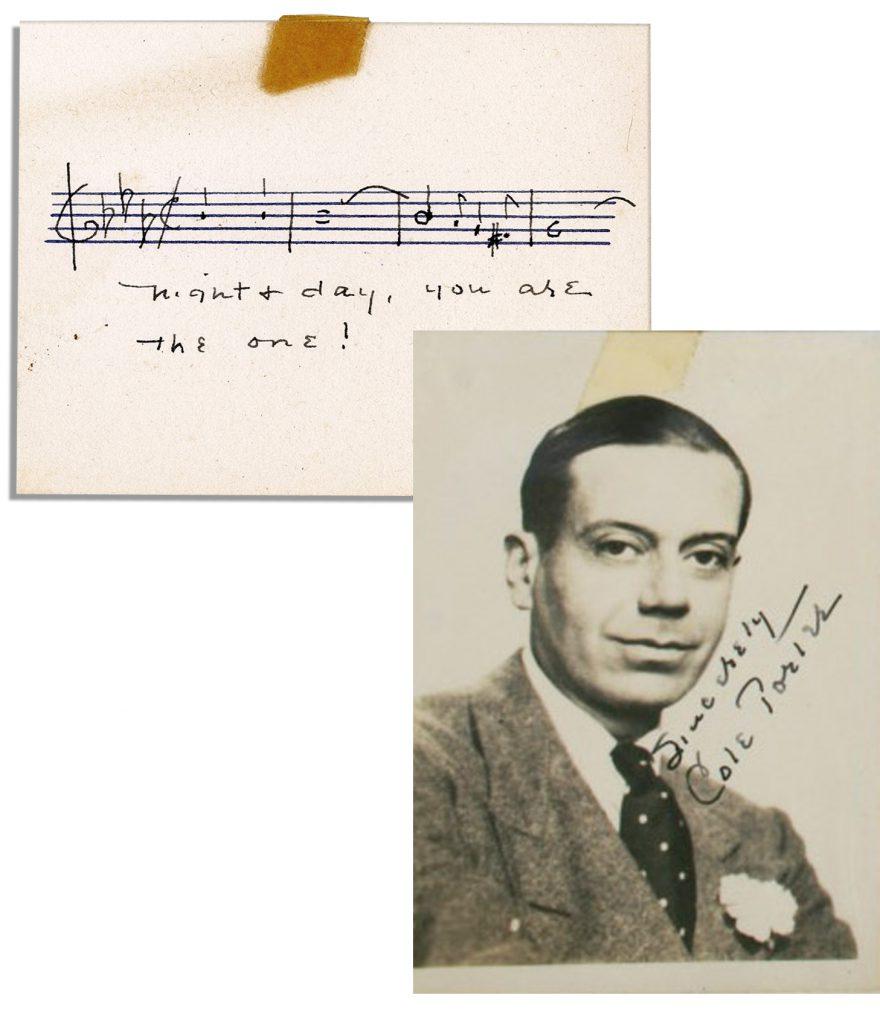 Glenn Gould autograph
