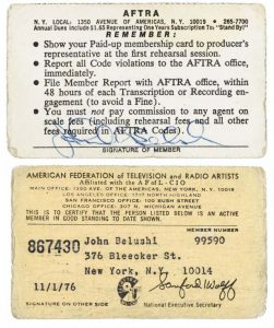 Jim Belushi autograph