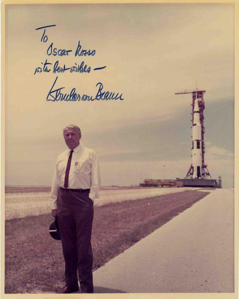 Wernher von Braun Autograph