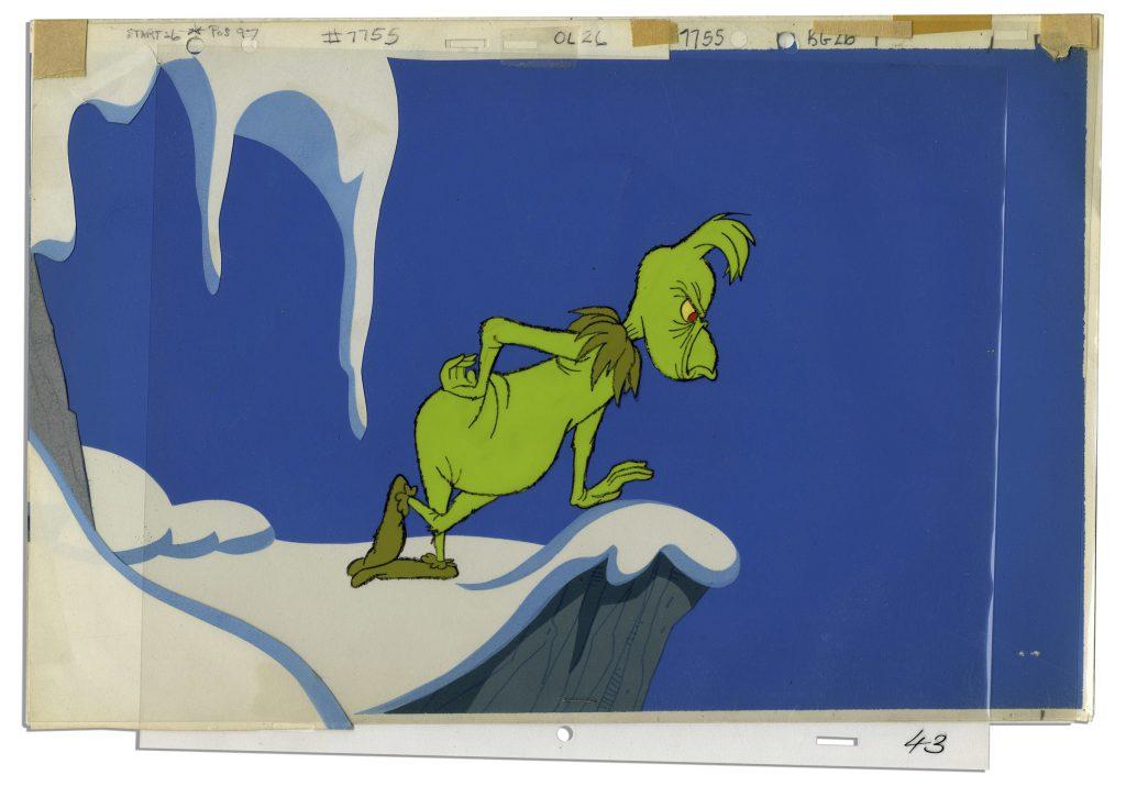 Dr Seuss Grinch Cel