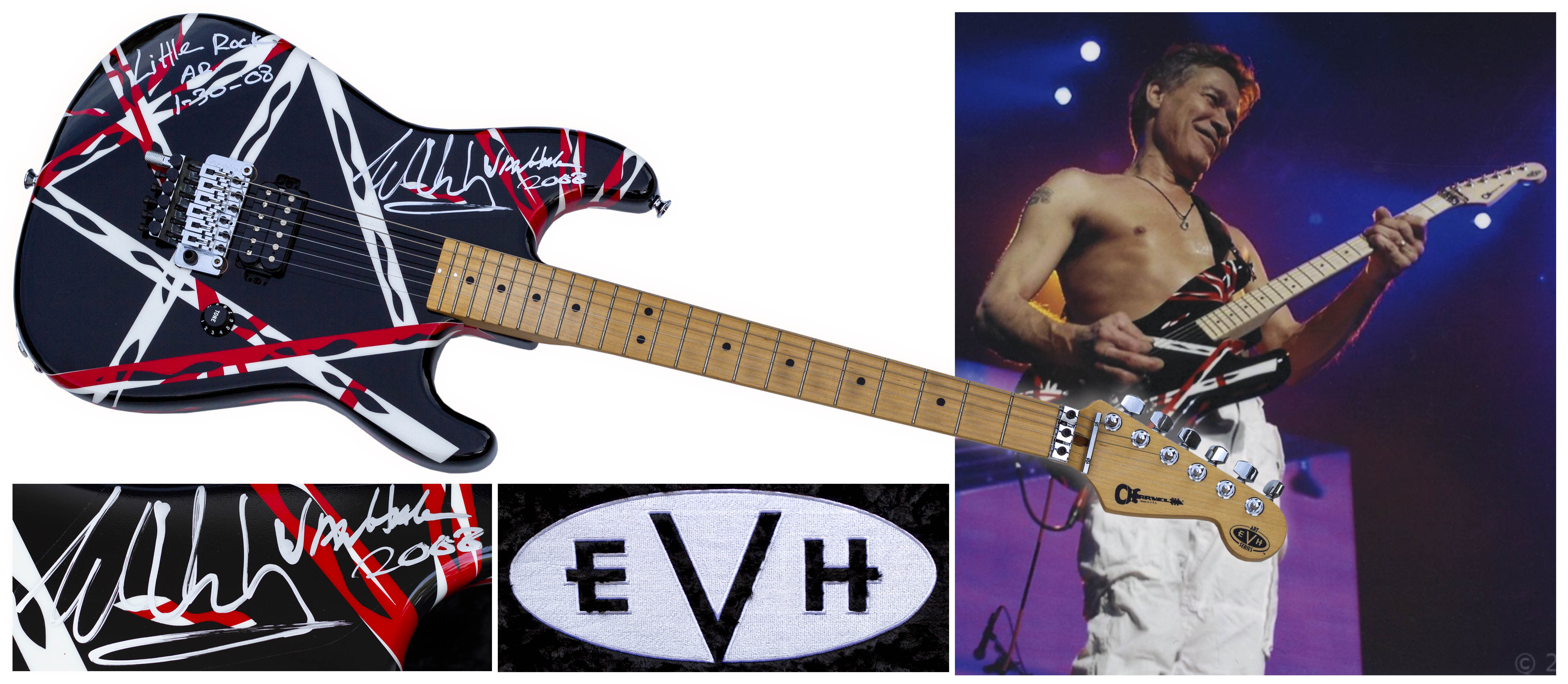Auction, Buy or Sell Your Owned and Played Eddie Van Halen Guitar