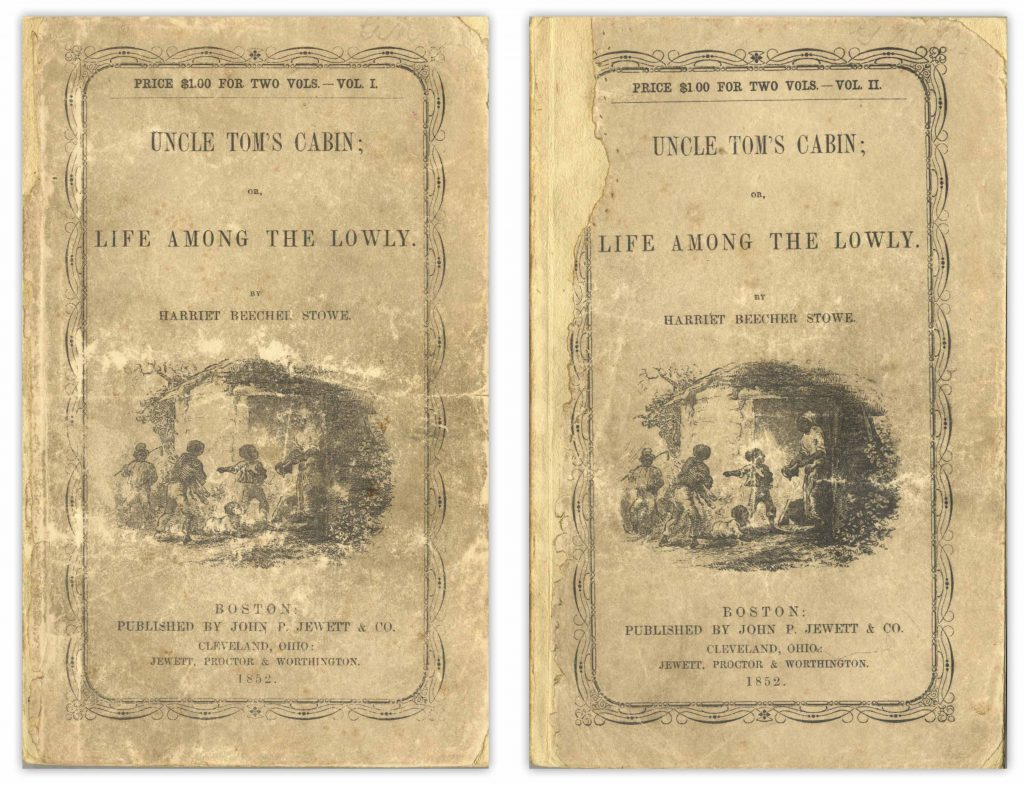 Uncle Tom's Cabin first edition