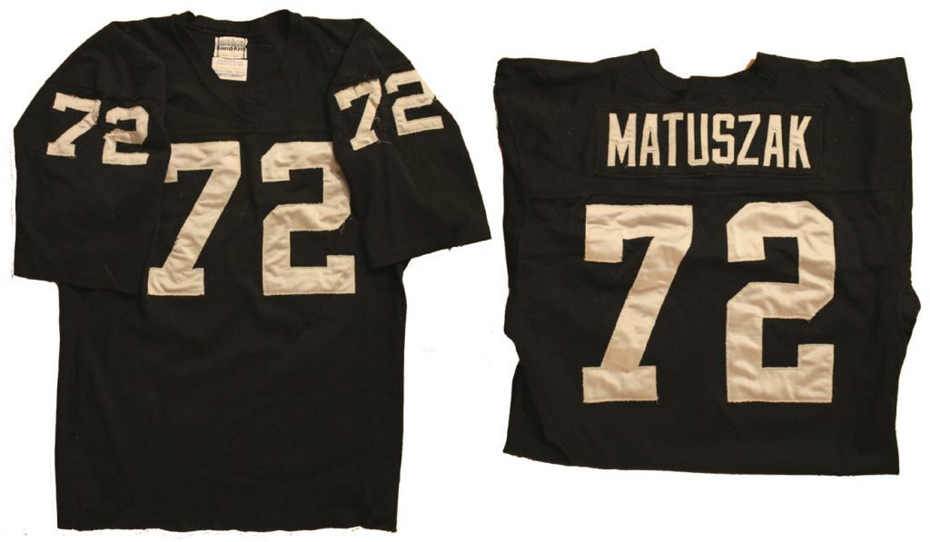 Sell Your John Matuszak Game Worn Jersey at Nate D. Sanders Auctions