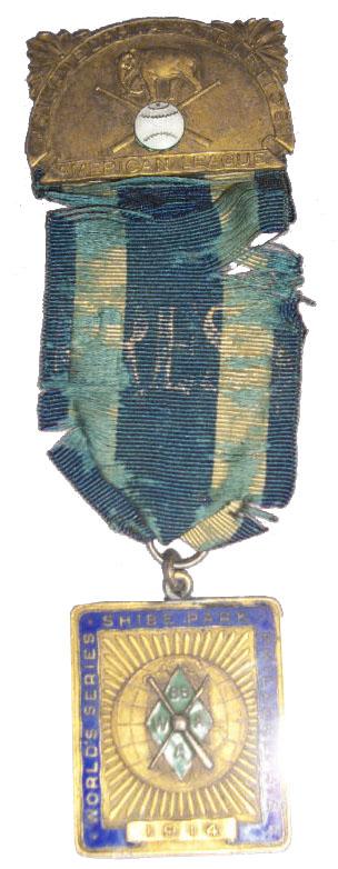 1914 World Series Press Pin