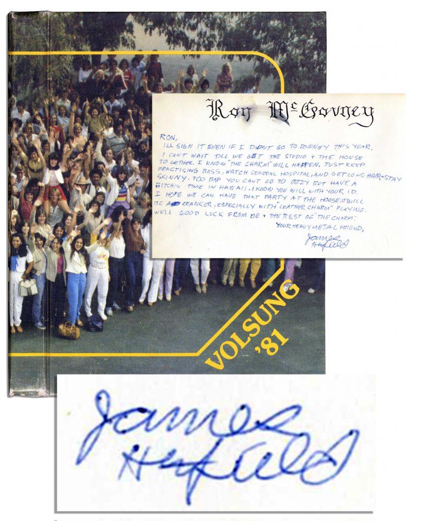 Black Sabbath autograph