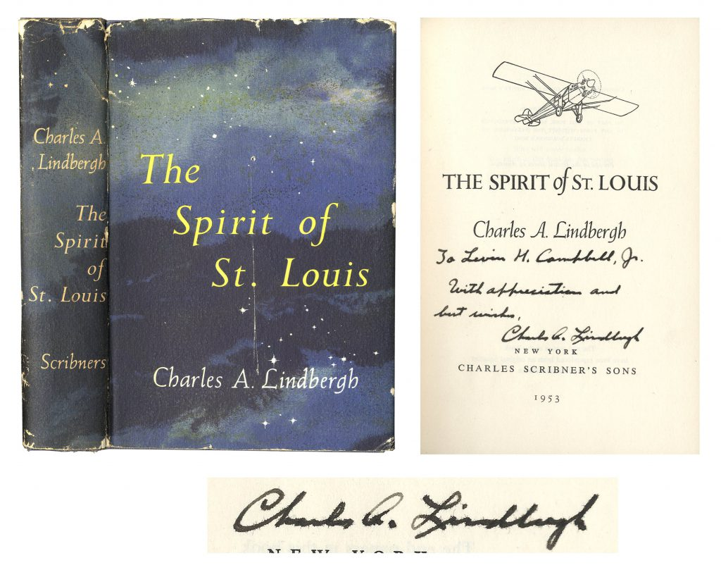 Charles Lindbergh Spirit of St Louis fabric