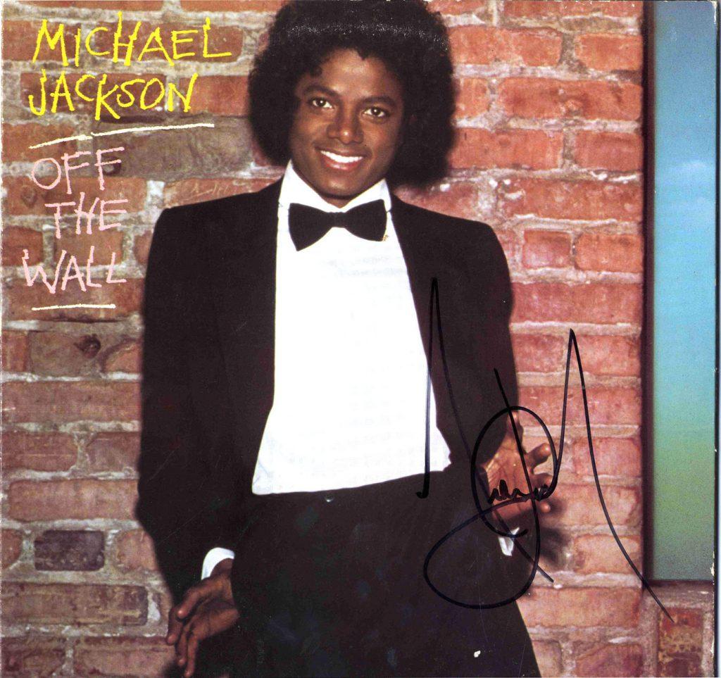 Michael Jackson autpgraph