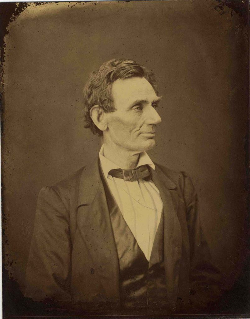 Abraham Lincoln Alexander Hesler Photo