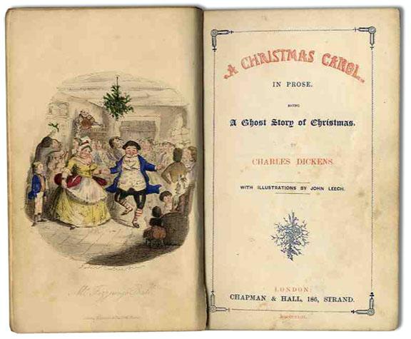 Christmas Carol 1st edition