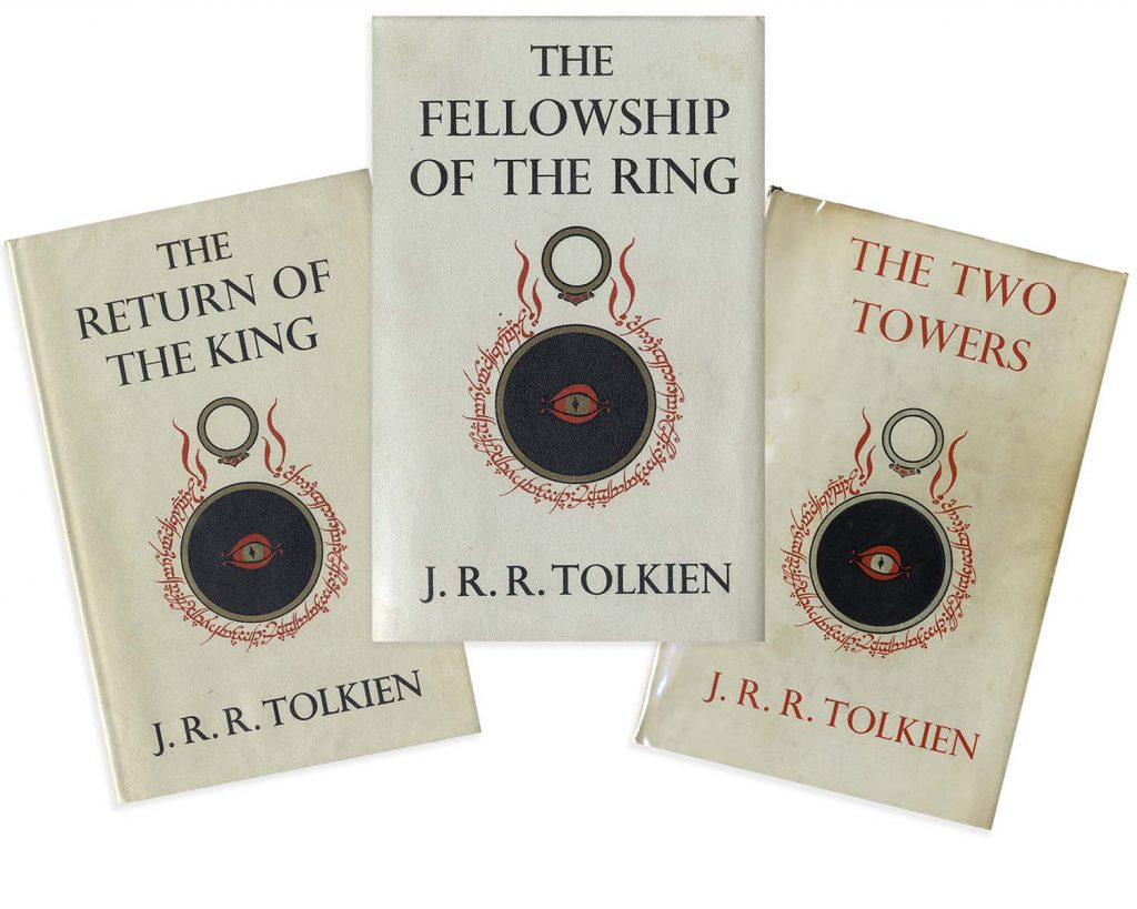 JRR Tolkien Lord of the Rings 1st Edition