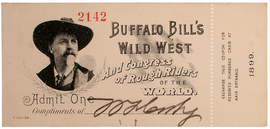 Buffalo Bill Cody autograph