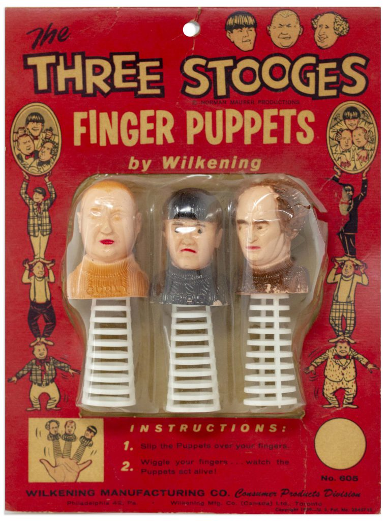Three Stooges Puppets
