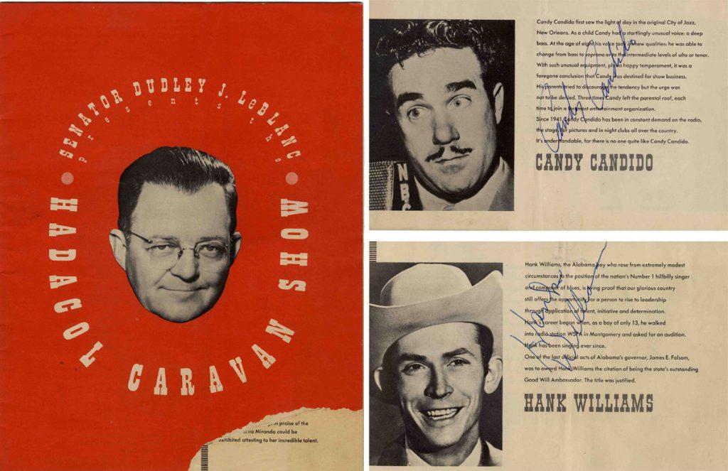 Hank Williams Sr Autograph