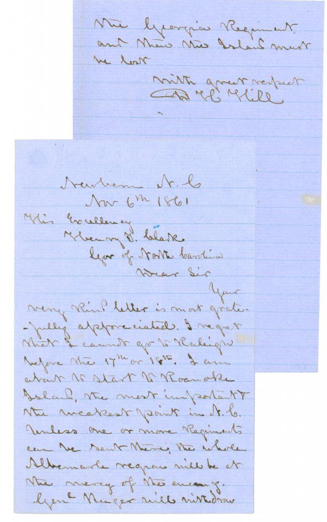Civil War Confederate General D.H. Hill Autograph Letter Signed