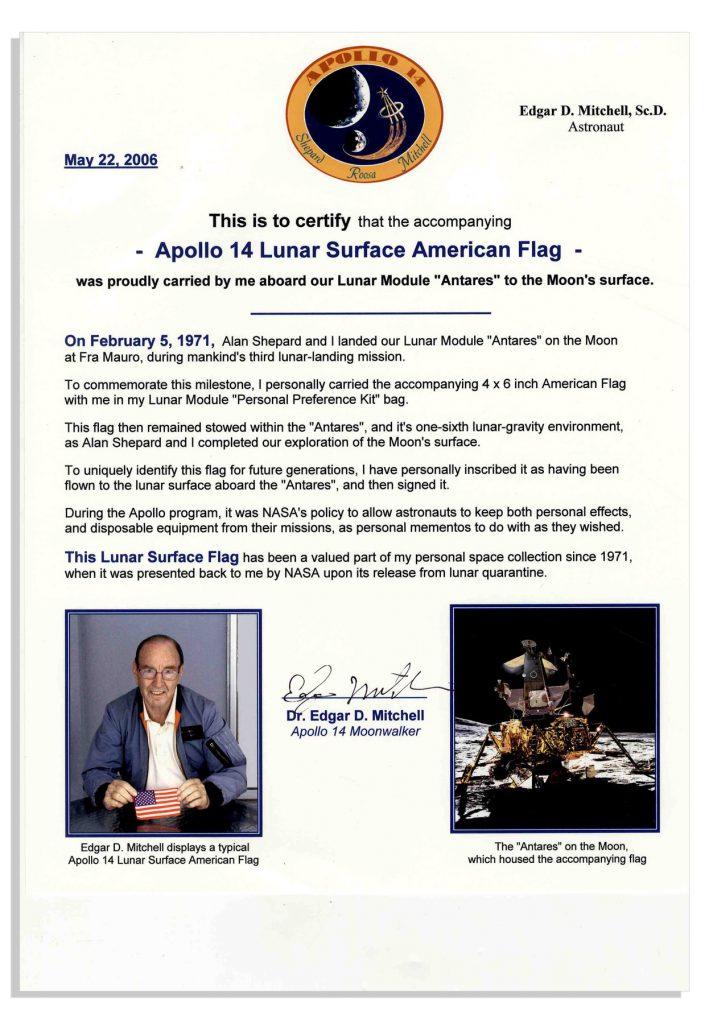 Apollo 14 Flown