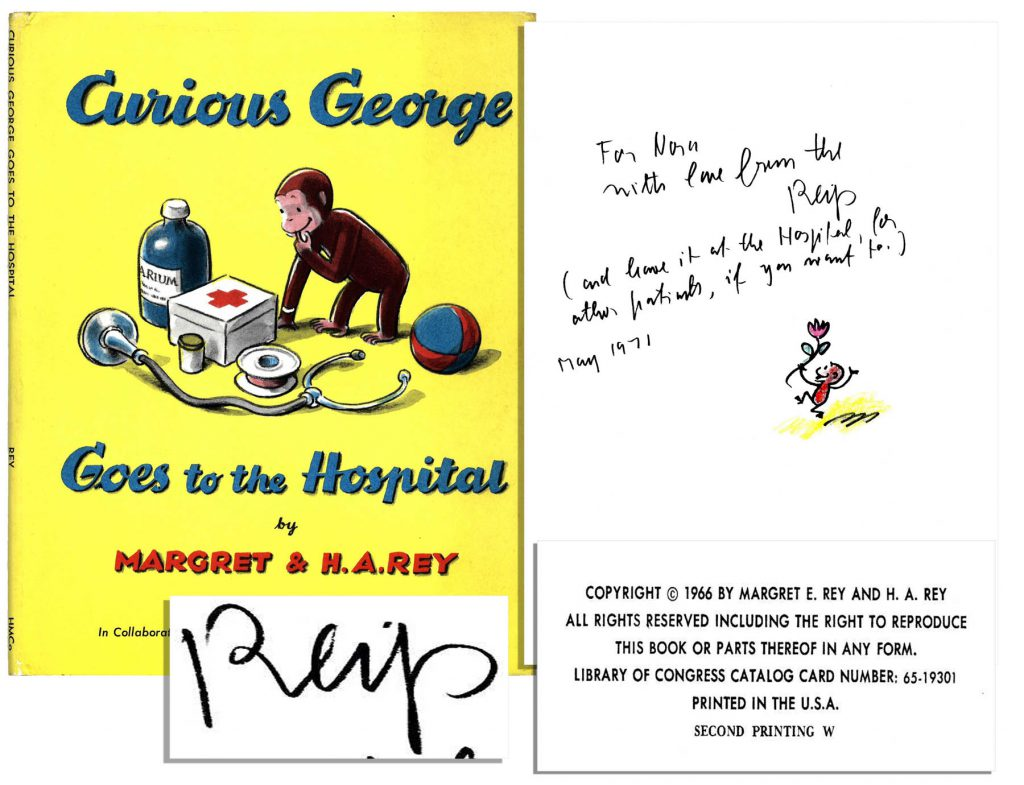 Curious George 1st edition