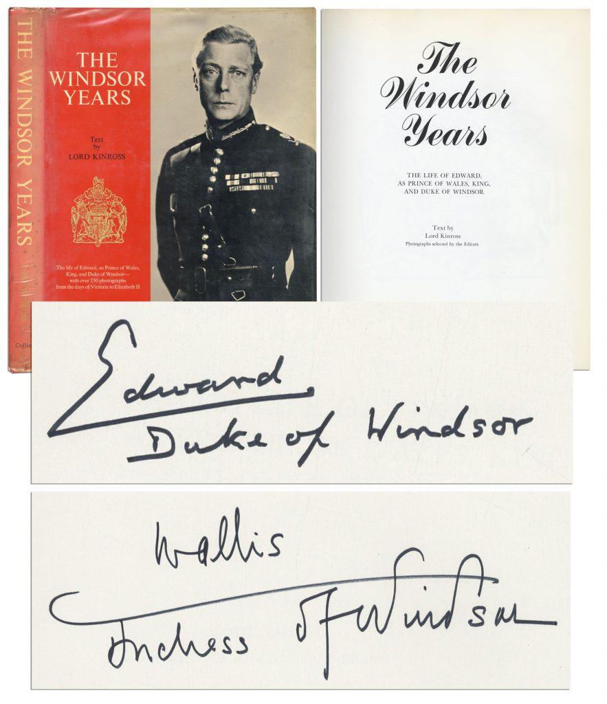 Lord Stanley of Preston autograph