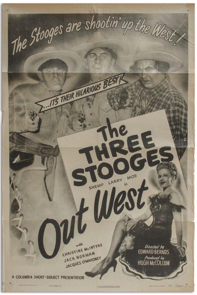 Three Stooges Poste