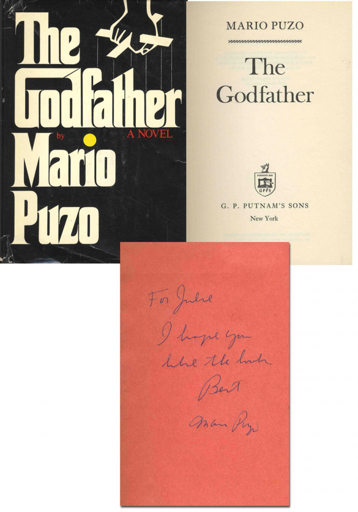 Mario Puzo Godfather 1st Edition