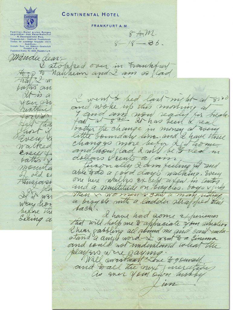 James Naismith Autograph