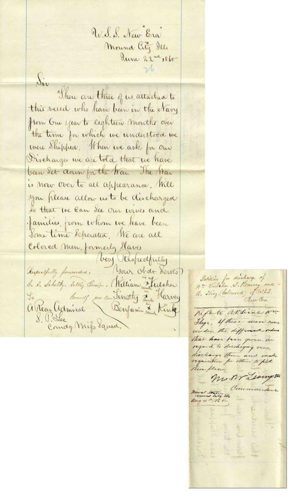 Slave letter
