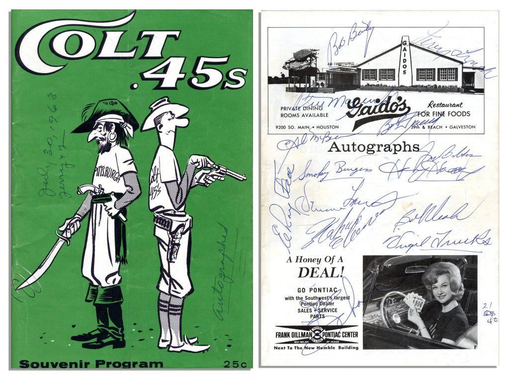 Roberto Clemente Autograph