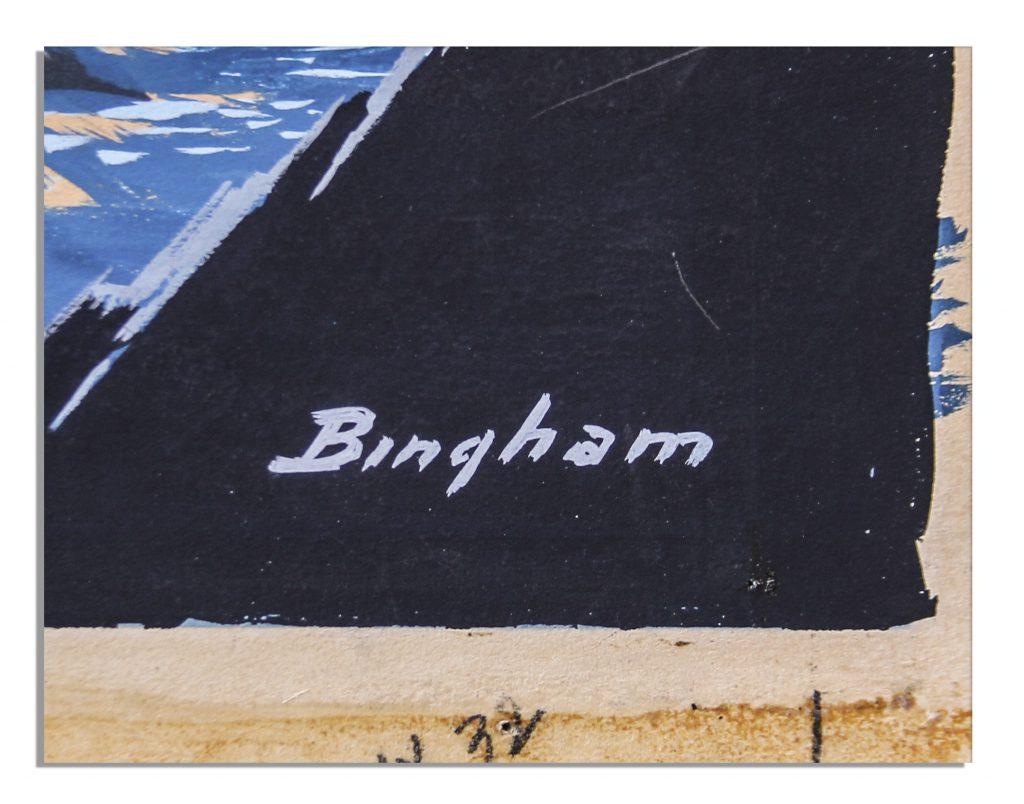 James Bingham art