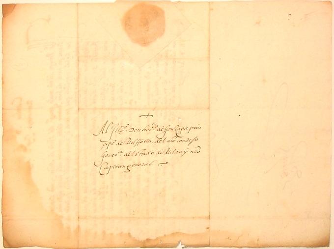 Charles V Document autograph