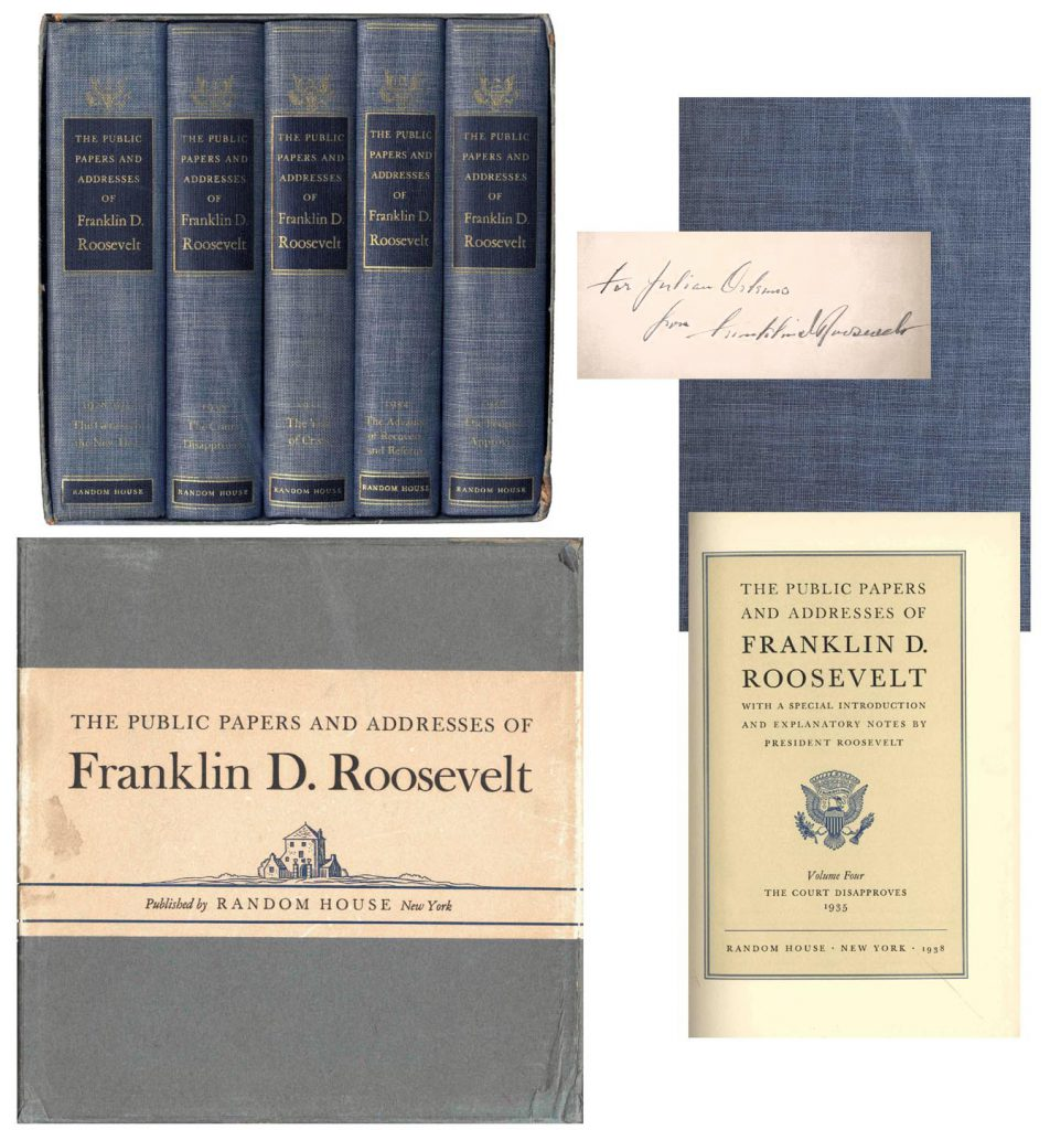 Papers and Addresses of Franklin D Roosevelt
