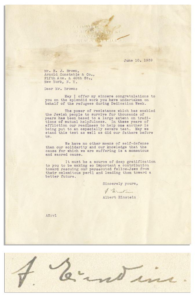 Franklin D. Roosevelt D-Day Prayer Signed