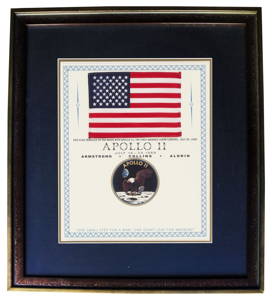 Sell Apollo 11 Michael Collins Flown Items at Nate D ...