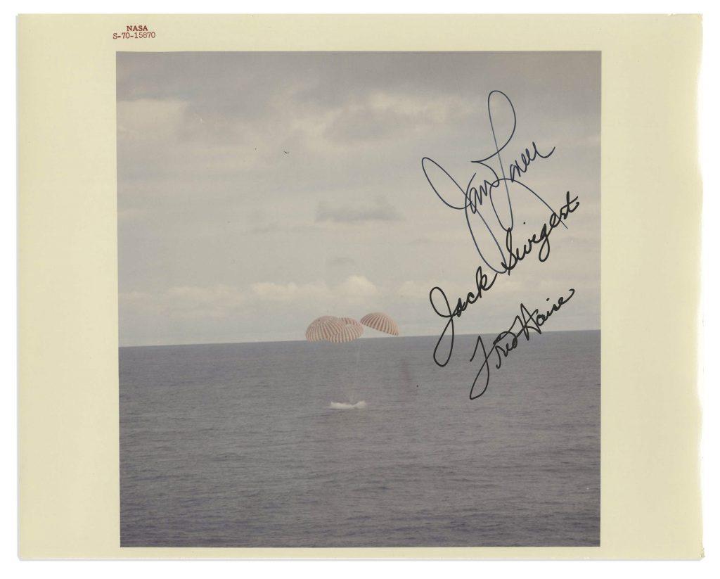 Jack Swigert signed