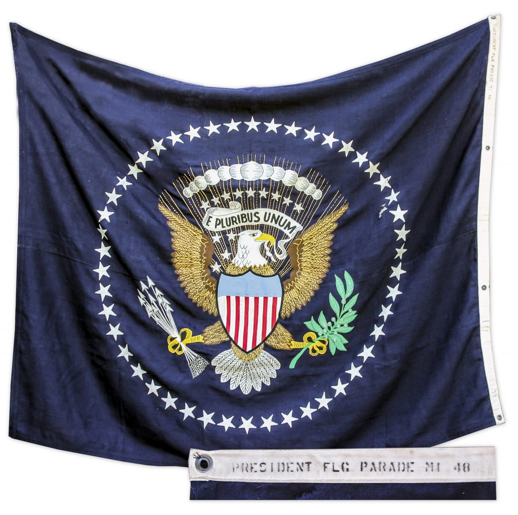 Lincoln Hamlin flag