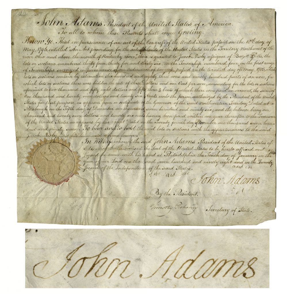 John Adams Liverpool jug