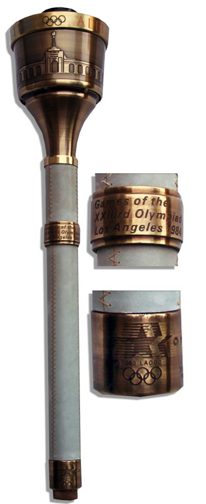 Cortina Olympics torch