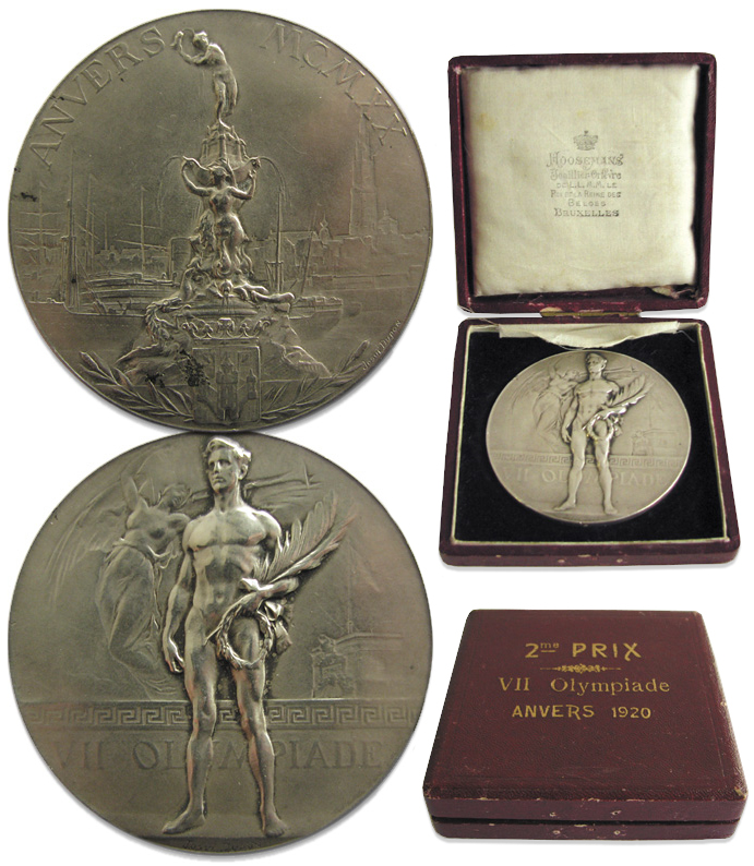 Bronze 1956 Stockholm Equestrian Olympics Medal