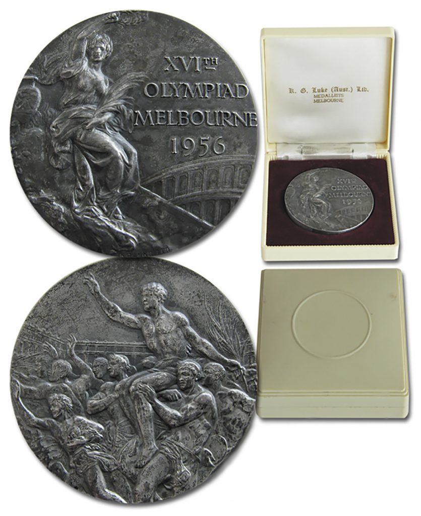 Silver 1980 Moscow Olympics Medal