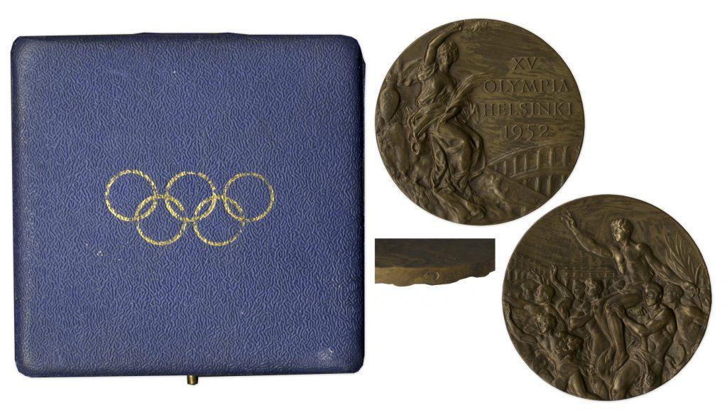 Bronze 1952 Helsinki Olympics Medal