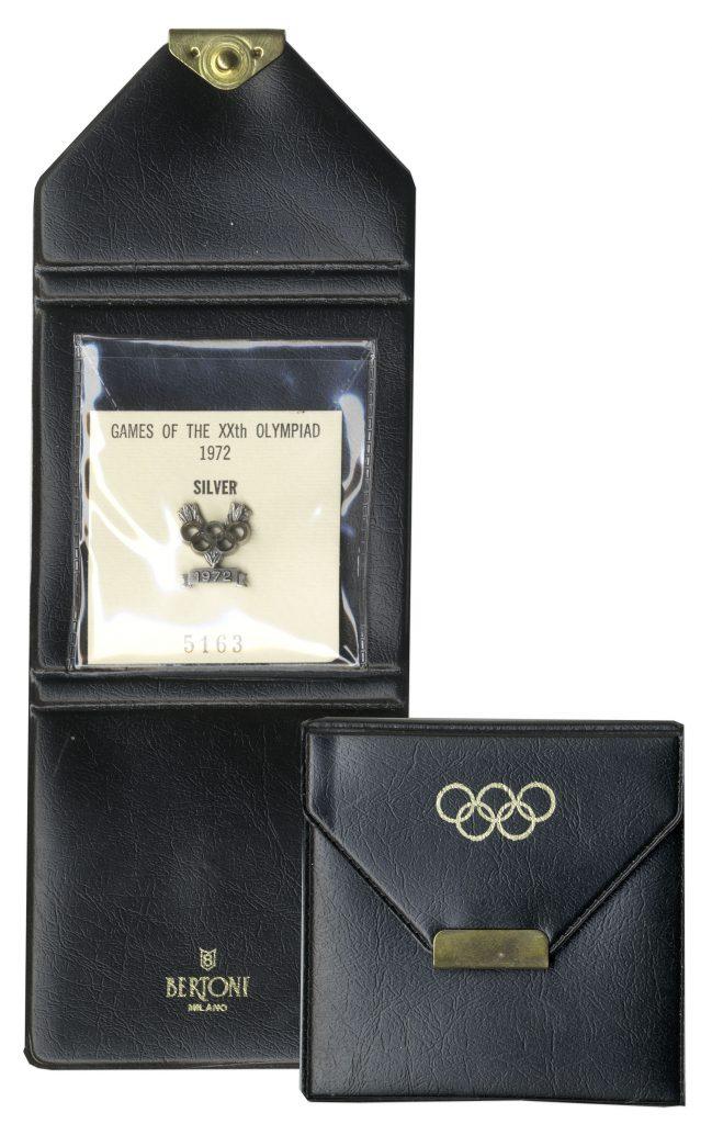 Silver 1972 Munich Olympics Medal