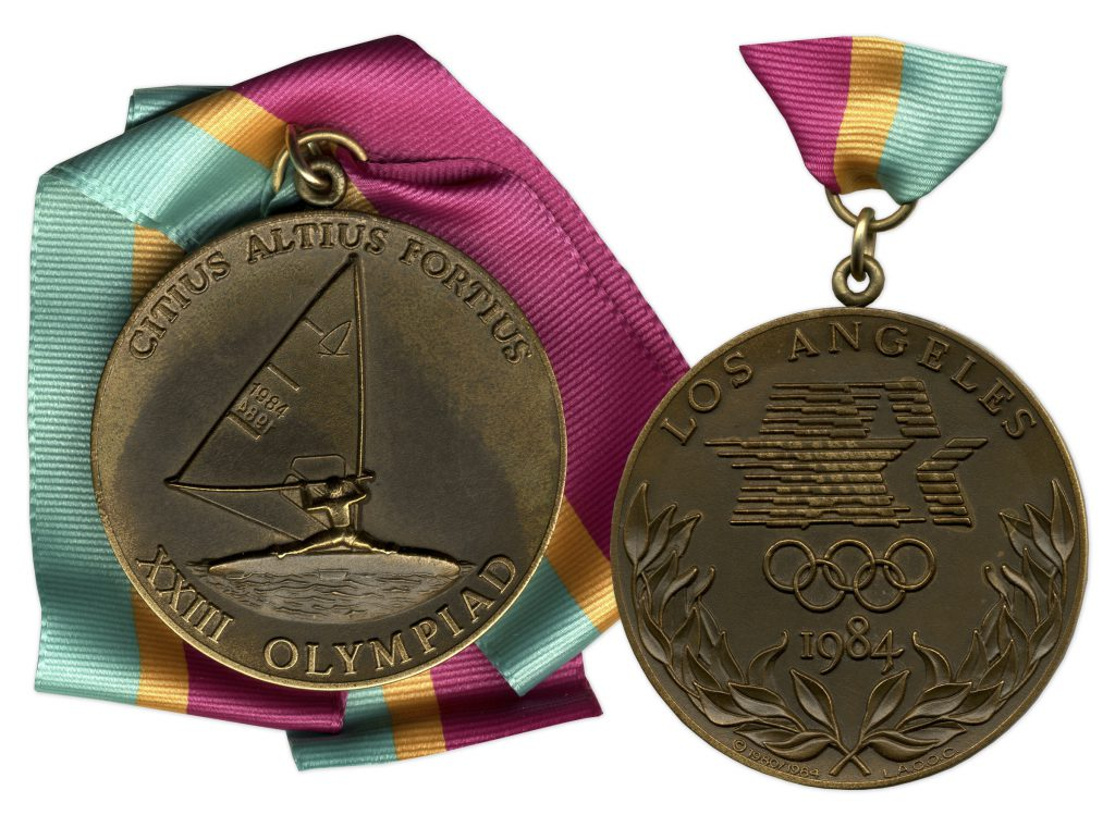 Bronze 1984 Los Angeles Olympics Medal
