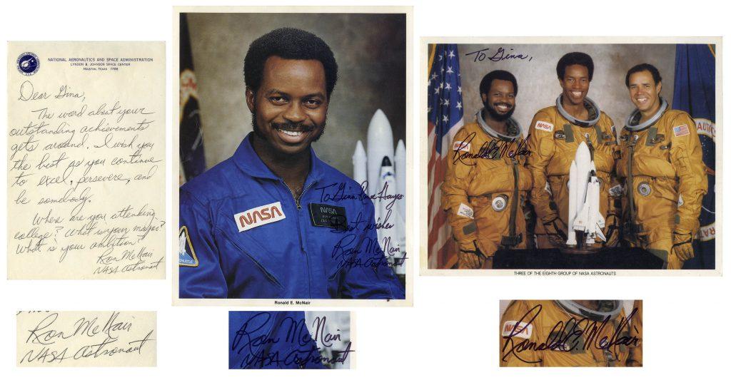Challenger autographs