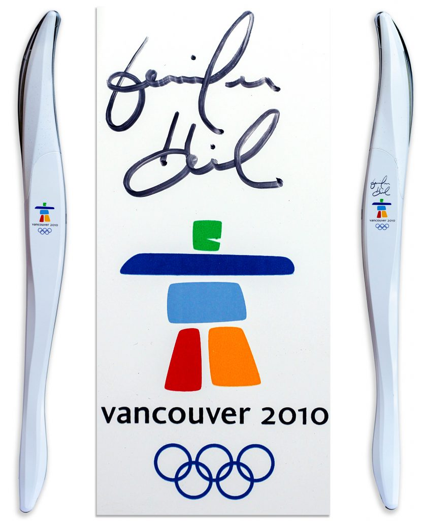 2010 Olympics torch Vancouver
