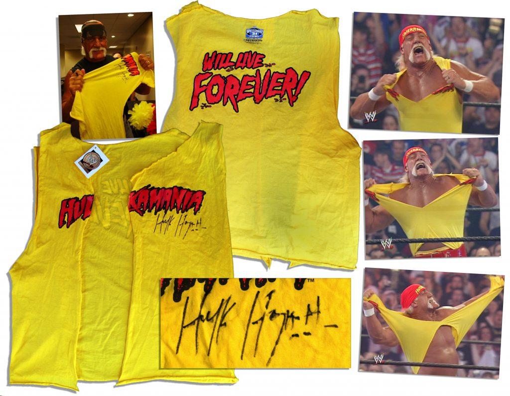 Hulk Hogan worn